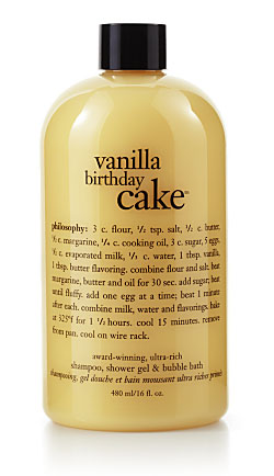 Review Philosophy Vanilla Birthday Cake Body Wash